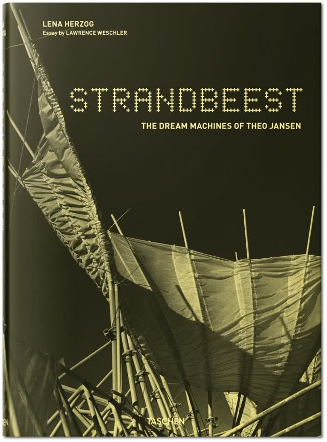 Portada Strandbeest. The Dream Machines of Theo Jansen