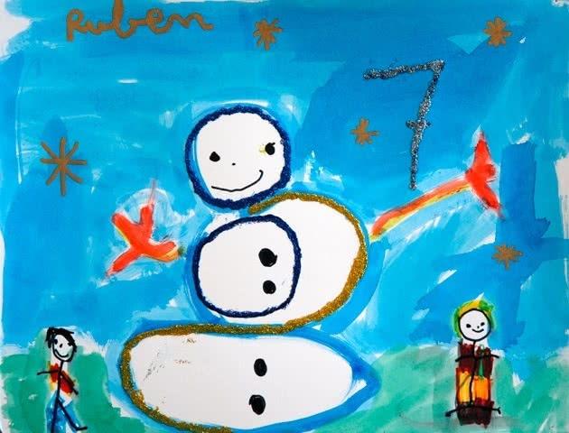 Postales de Navidad ¡Sana y crea!