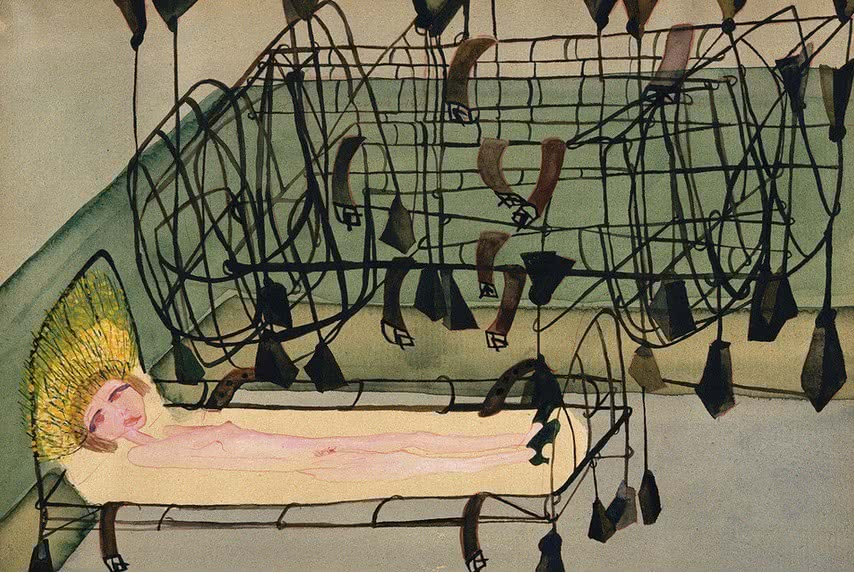 'Appassionata', de Carol Rama Gonella / MACBA.