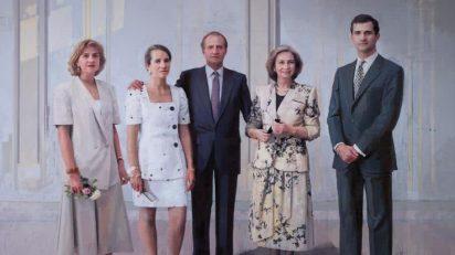 Antonio López. La familia de Juan Carlos I. © Patrimonio Nacional. © Antonio López, VEGAP, Madrid 2014.