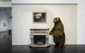 Vista de sala de la exposición 'La herencia inmaterial. Ensayando desde la Colección'. Foto: Rafael Vargas.