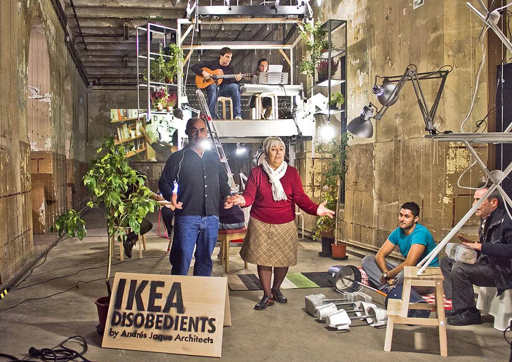 Andrés Jaque. Oficina de Innovación Política, IKEA Disobedients, 2012