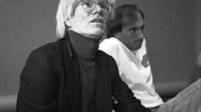 Andy Warhol, 1984. © Javier Porto Cortesía MONDO GALERIA