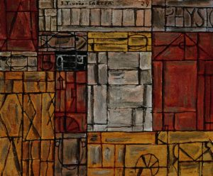 Torres-García, Joaquín. Physique,1929. Óleo sobre tela 60 x 73 cm.