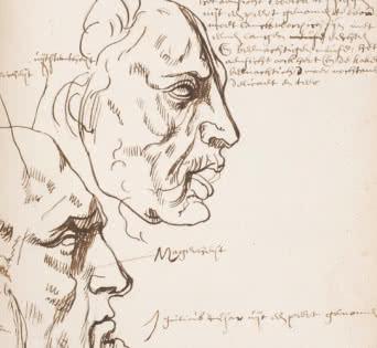 Cuaderno de Rubens (manuscrito Bordes). S. XVII, Madrid, Biblioteca Museo Nacional del Prado.