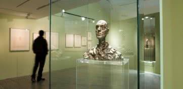 GIACOMETTI. El hombre que mira. © Fundación Canal.