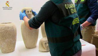 guardia civil expolio piezas egipcias