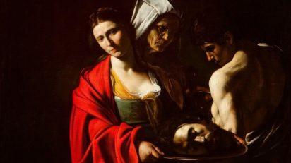 Michelangelo Merisi da Caravaggio. Salomé com a cabeça de João Batista.