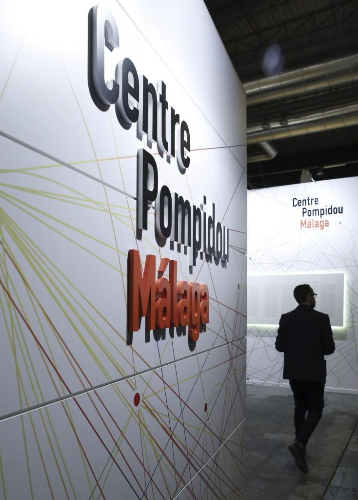 Stand del Centro Pompidou Málaga en ARCOmadrid 2015