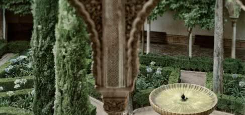 Fernando Manso. Fuente de Lindaraja. Alhambra