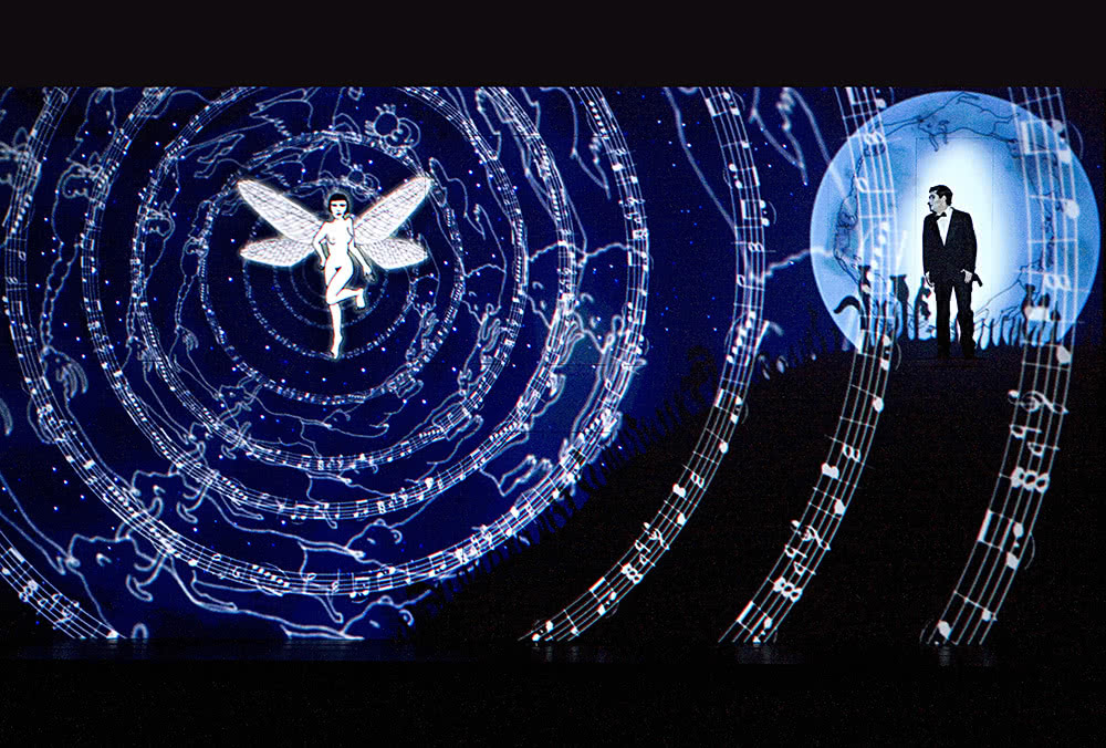 'Die Zauberflöte'. 2012. Komische Oper Berlin (Foto: Iko Fresse / drama-berlin.de)