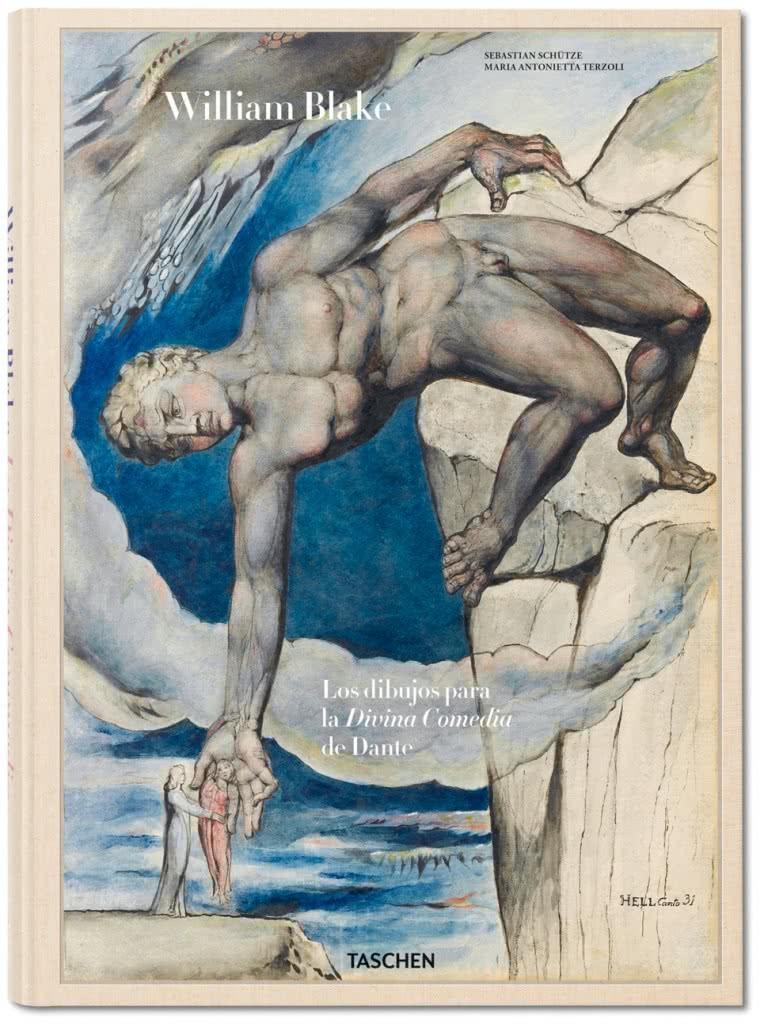 Portada William Blake. Las ilustraciones de la Divina Comedia de Dante