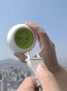 Fuente de alimentación solar para pequeños aparatos electrónicos. Window Socket. Boa Oh, Kyuho Song. KO, 2013