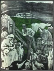 Escena asturiana. Semanario España, 24 de julio de 1919. Archivo Fundación Ortega y Gasset Gregorio Marañón, Madrid.