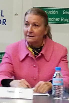 España Suárez, viuda de Francisco Umbral.