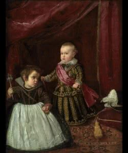 Diego Velázquez, Balthasar Carlos et son nain, Museum of Fine Arts, Boston, © Museum of Fine Arts, Boston.