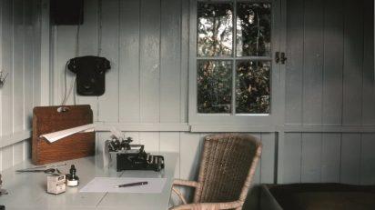 La cabaña de Bernard Shaw.La cabaña de Bernard Shaw.