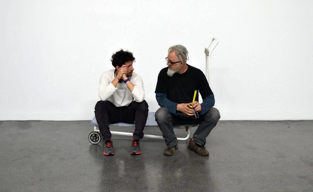 Carlos Nicanor y Julio Blancas