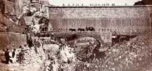Charles Clifford Canal de Isabel II Presa del Ponton de la Oliva 1856