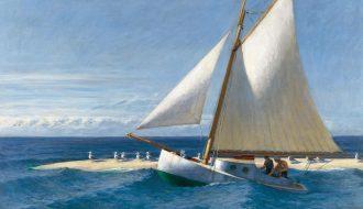 Edward Hopper. El Martha Mckeen de Wellfleet, 1944