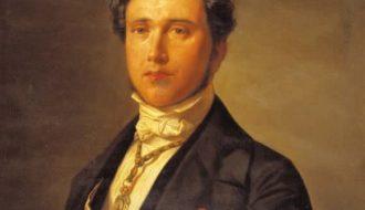 Germán Hernández Amores. Retrato de Juan Donoso Cortés, h. 1874