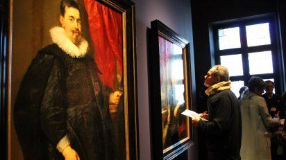 Peter Paul Rubens. Portrait of a man (Peter van Hecke?). c. 1630. The Hague, Mauritshuis, inv. no. 1131. Foto: Luis Martín.