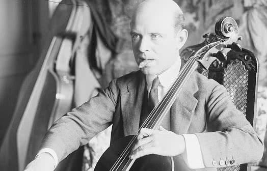 Pau Casals. (Foto: Biblioteca del Congreso de Estados Unidos)