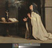 Pedro Pablo Rubens. Visita a Santa Teresa del Espiritu Santo, 1612-1614