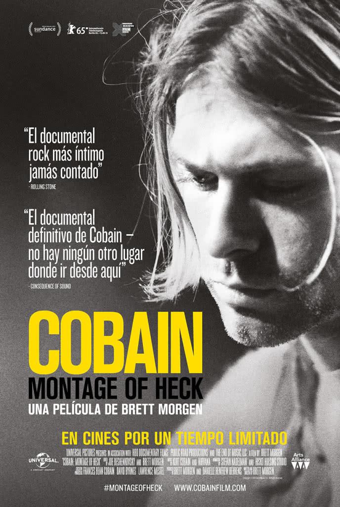 Cartel de 'Cobain. Montage of Heck'