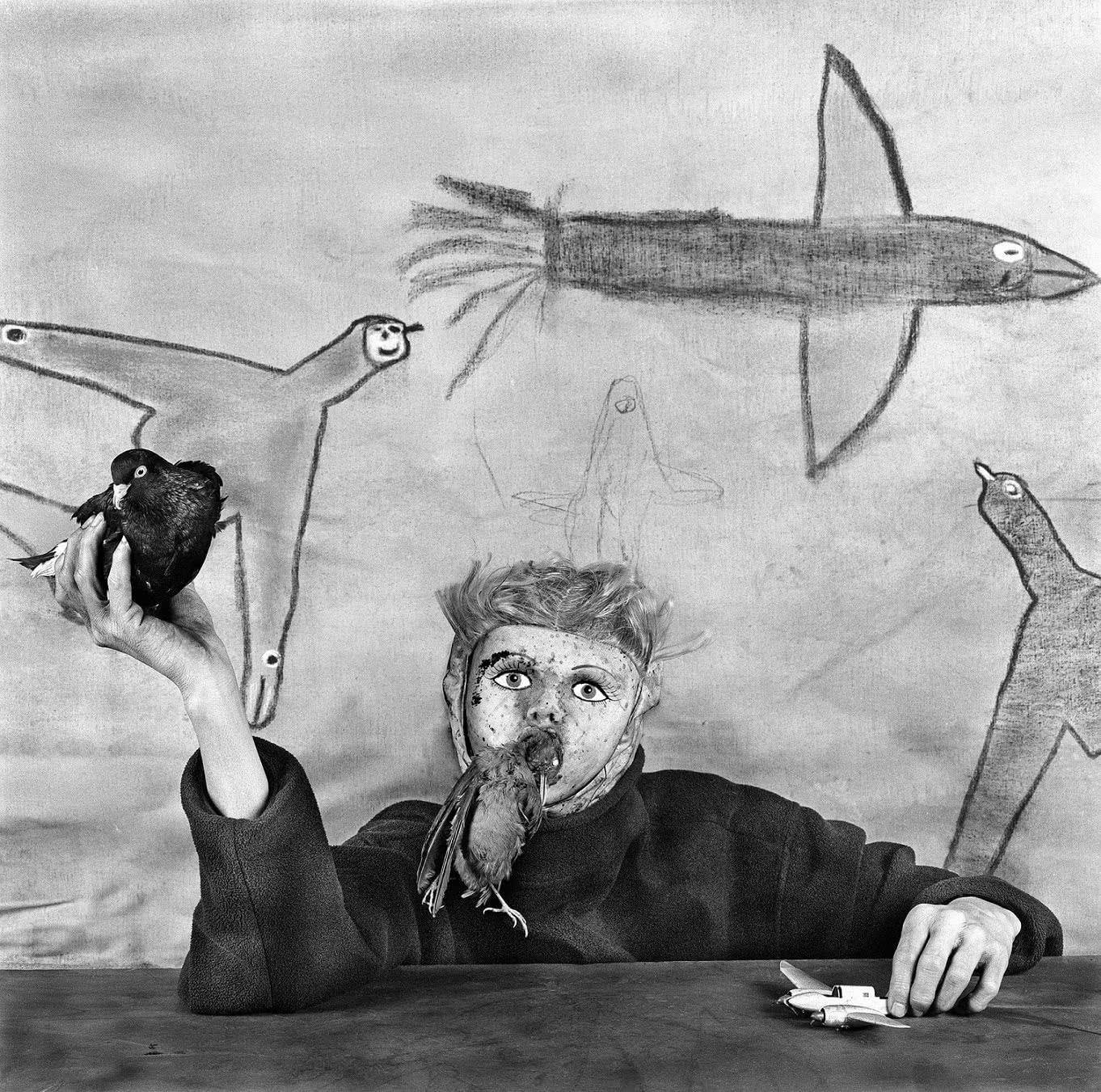 Roger Ballen. Take off. Asylum of the birds. 2012.