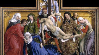 Rogier van der Weyden. El Descendimiento, 1435.