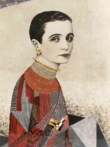 Jean Dunand. Madame Agnès, 1927. Cortesía Galerie Michel Giraud, París.