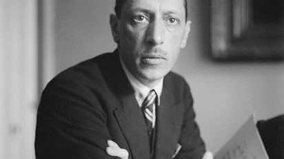 Igor Stravinsky. (Foto: George Grantham Bain Collection / United States Library of Congress)