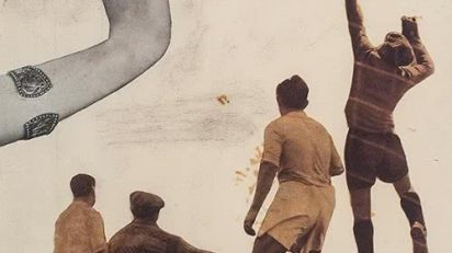 Nicolás de Lekuona. Futbolistas, extremidades y reloj. 1935.