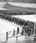 Presos en la cárcel de Porlier, en Madrid, en octubre de 1943. Alfonso (AGA).