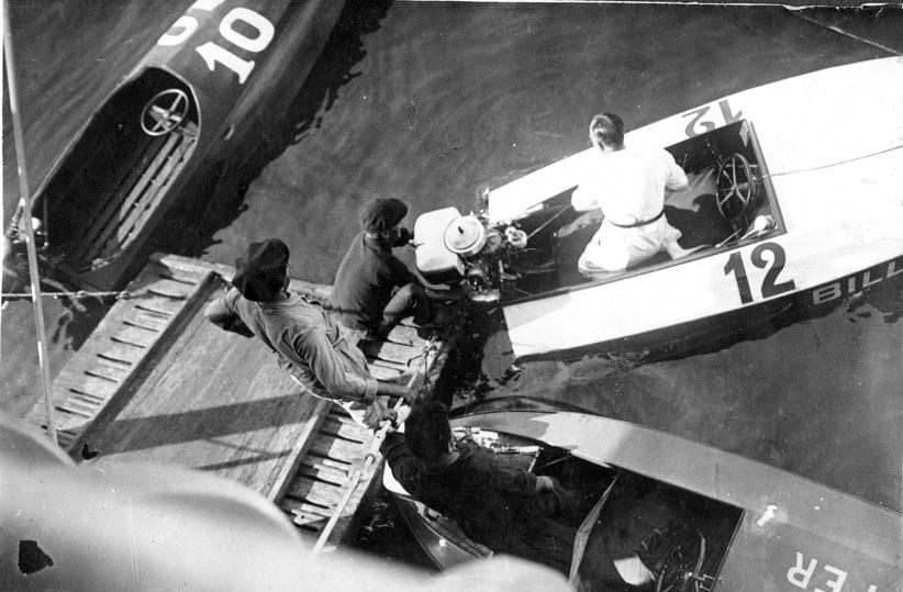 Gabriel Casas, Lanchas de competición, c. 1930, Arxiu Nacional de Catalunya.