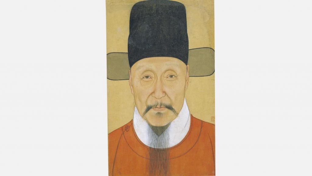 Retrato de He Bin, comandante en jefe de la dinastía Ming nacido en Shanyin, Zhejiang © Nanjing Museum.