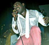 Percy Sledge, de gira en 1974. Foto: Gene Pugh.