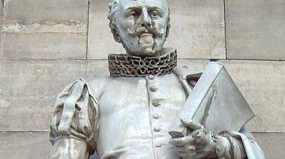 «Cervantes (J. Vancell) Madrid 01» de Luis García de Madrid (España). - Flickr. Disponible bajo la licencia CC BY-SA 2.0 vía Wikimedia Commons.