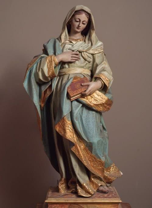 José Luján Pérez. Virgen de la Encarnación, 1810