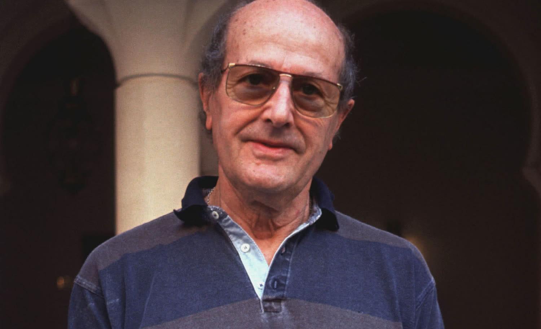 Manoel de Oliveira, en la Mostra de Venecia en 1991. Foto: Caricato da Gorupdebesanez).