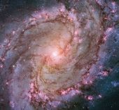 M83 Southern Pinwheel Galaxy classification: Barred Spiral Galaxy position: 13h 37m, –29° 51' (Hydra) distance from earth: 15,000,000 ly instrument/year: WFC3/UVIS, 2009–2012.
