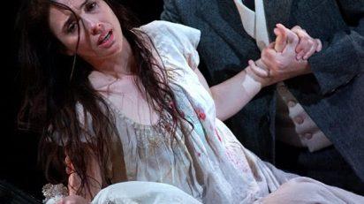 Ermonela Jaho (Violetta Valery, 'La Traviata') / Francesco Demuro (Alfredo Germont) (Foto: Javier del Real / TR)