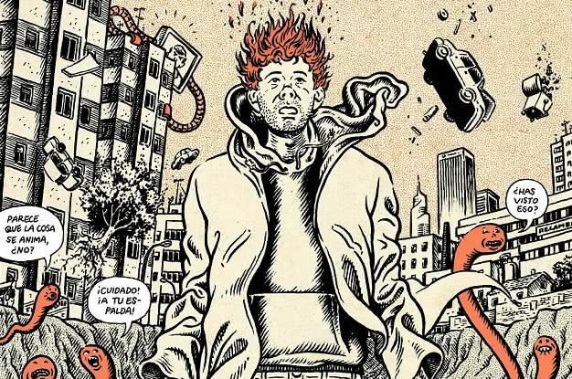 Los delirios del protagonista de 'Lo que me está pasando', de Miguel Brieva.