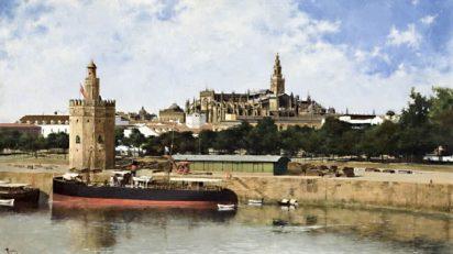 'Vista de Sevilla', de Nicolás Jiménez Alpériz.