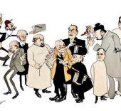 150 anos caricaturas medicas
