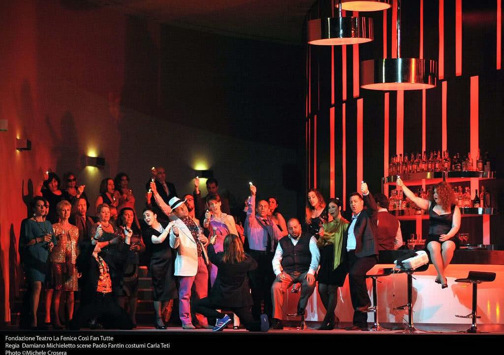 'Così Fan Tutte'. Fondazionte Teatro La Fenice (Foto: Michelle Crosera)