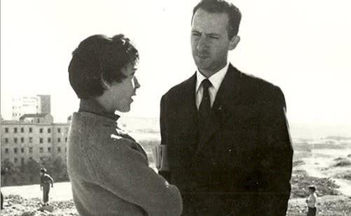 Amalia Avia y Lucio Munoz