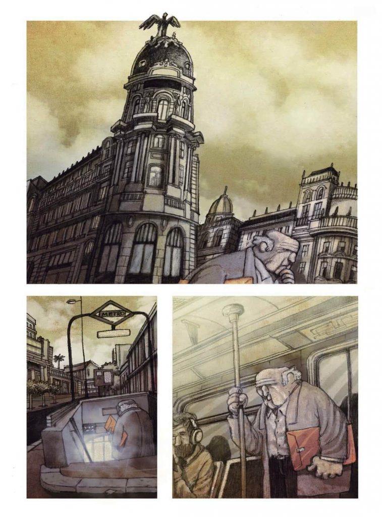 Página interior 'El infierno del dibujante'
