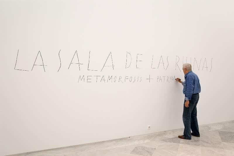 José Ramón Sierra en el CAAC.